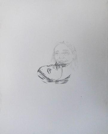 Zinc-plate etching, A3