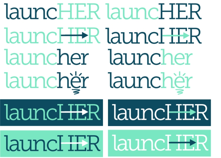 Branding development for a Business Today sponsored initiation supporting women in Business.